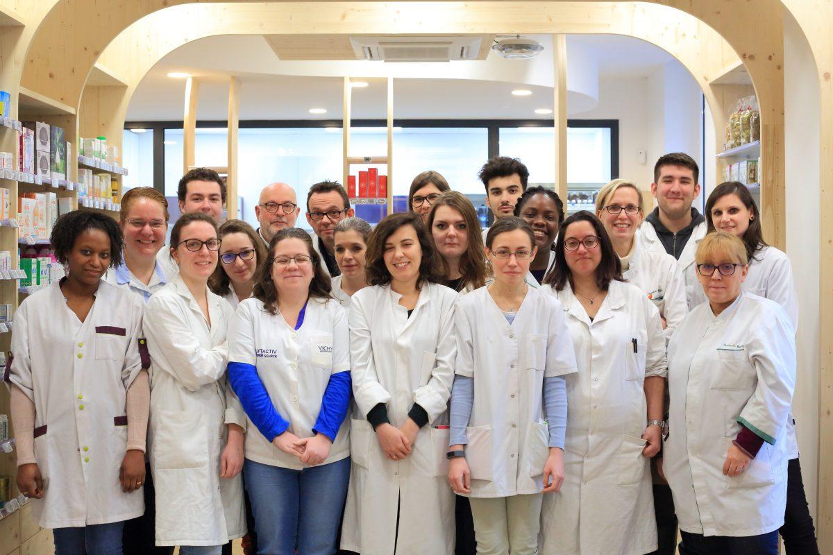 Equipe Pharmarcie Maubeuge Paris 9